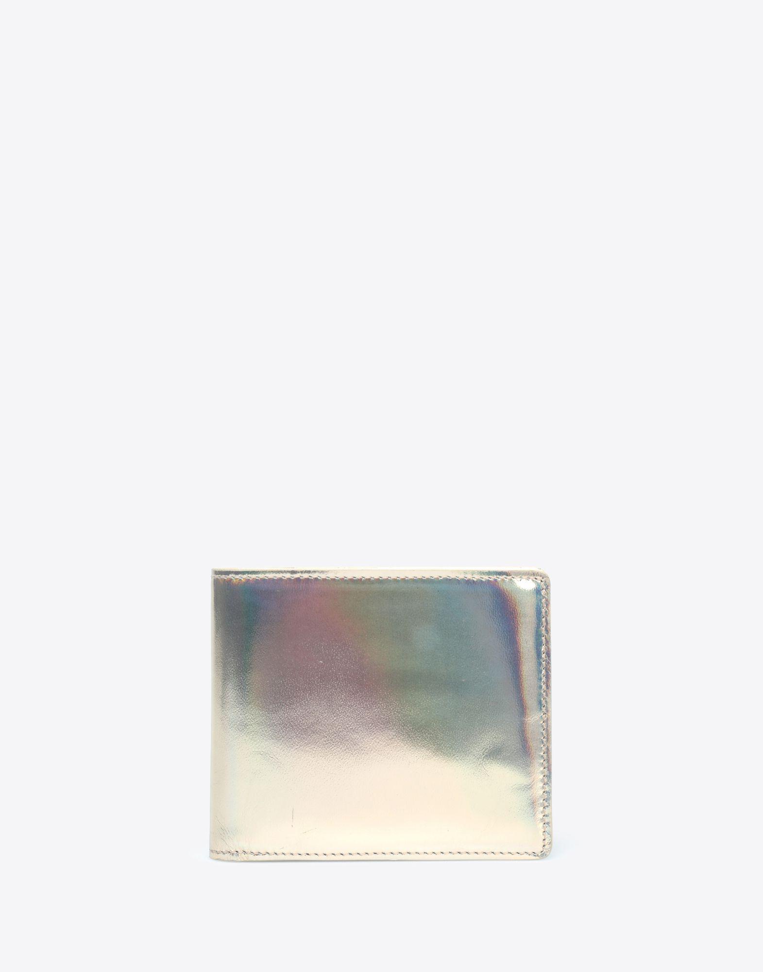 MAISON MARGIELA Laminated leather wallet Wallet Man f
