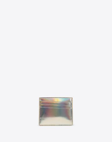 MAISON MARGIELA Credit card holder [*** pickupInStoreShippingNotGuaranteed_info ***] Laminated leather cardholder f