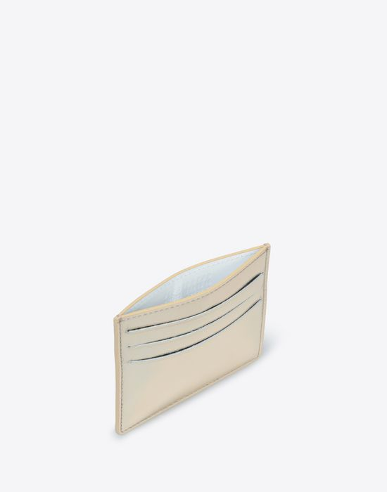 MAISON MARGIELA Laminated leather cardholder Credit card holder [*** pickupInStoreShippingNotGuaranteed_info ***] d