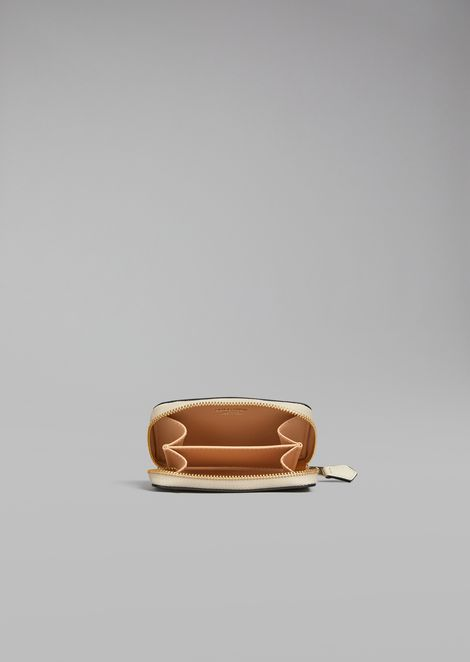 Smooth leather coin purse