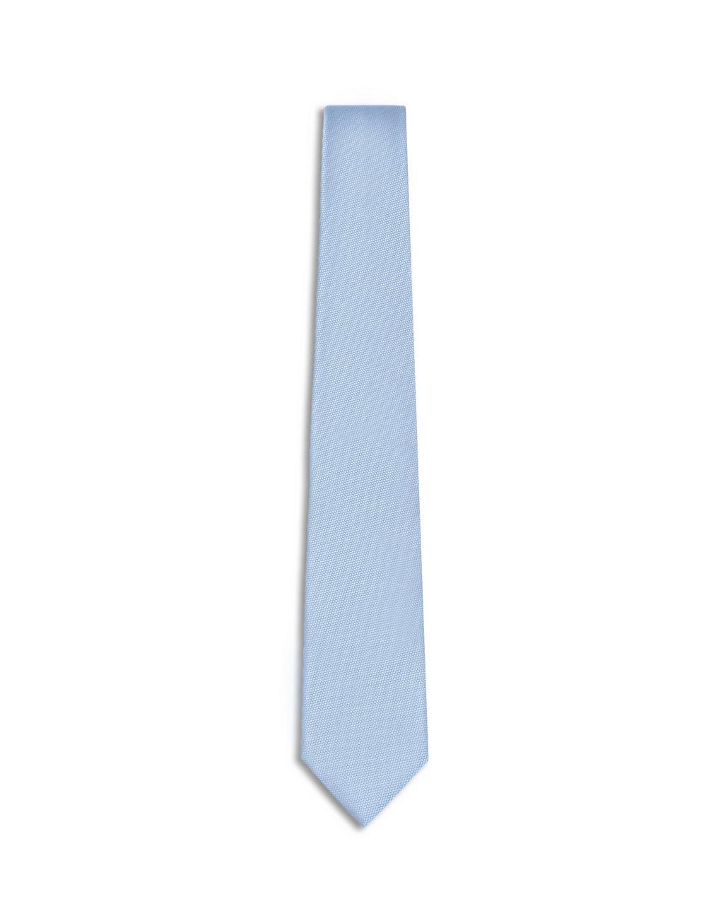 BRIONI Blaue Webkrawatte Krawatte Herren f