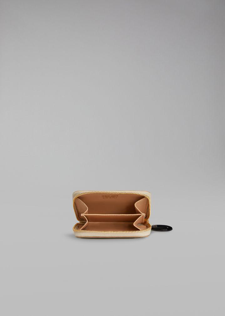 Giorgio Armani - Porte-monnaie en cuir et vernis - 2