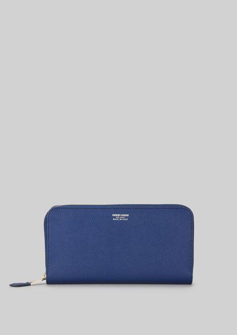 Horizontal Leather Wallet