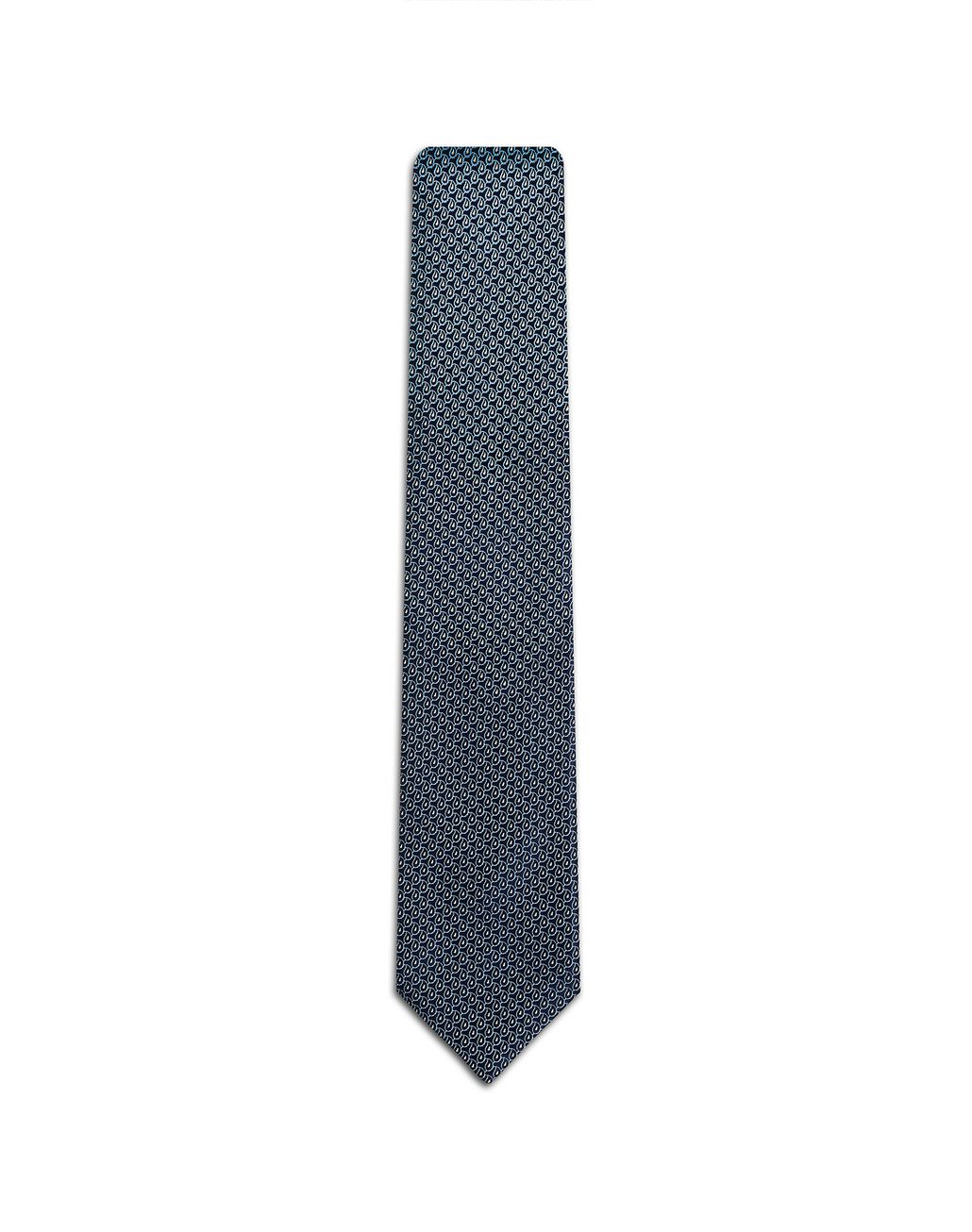 BRIONI Midnight Blue Degradé Tie Tie Man f