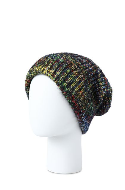 MISSONI Hat Dark blue Woman - Front