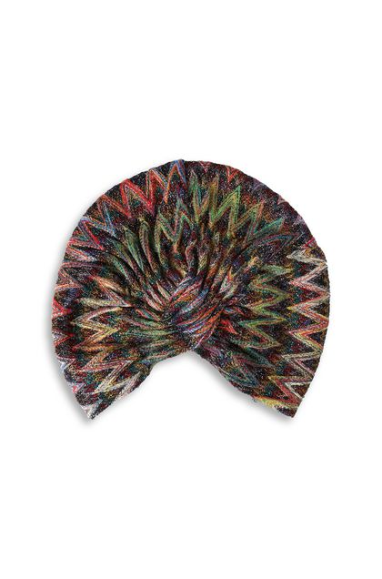 MISSONI Turban Maroon Woman - Front