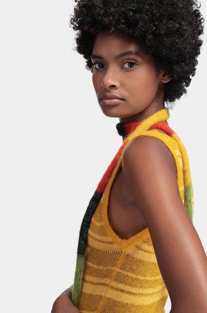 MISSONI Scarf Yellow Woman - Back