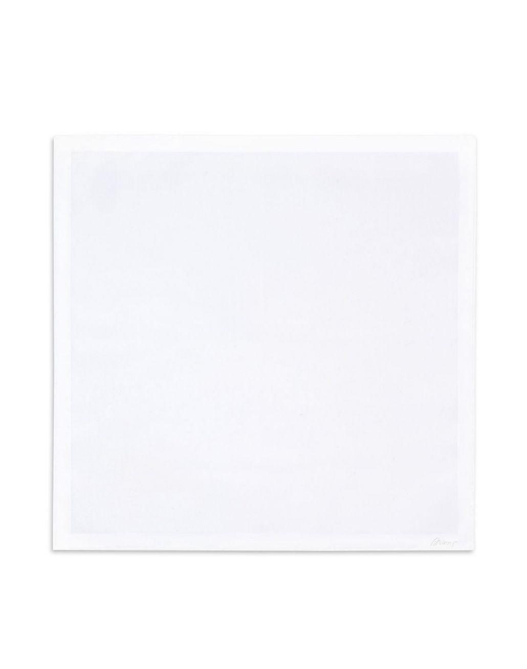 BRIONI White Pocket Square Tie & Pocket Square Man f