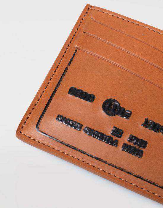 MAISON MARGIELA Calfskin credit card holder Wallet [*** pickupInStoreShippingNotGuaranteed_info ***] a