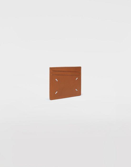 MAISON MARGIELA Calfskin credit card holder Wallet [*** pickupInStoreShippingNotGuaranteed_info ***] r