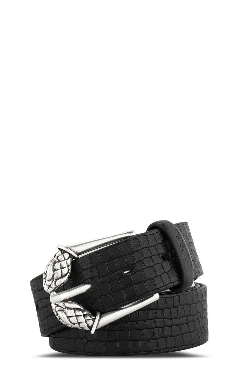 JUST CAVALLI Crocodile belt with python buckle Belt [*** pickupInStoreShippingNotGuaranteed_info ***] f