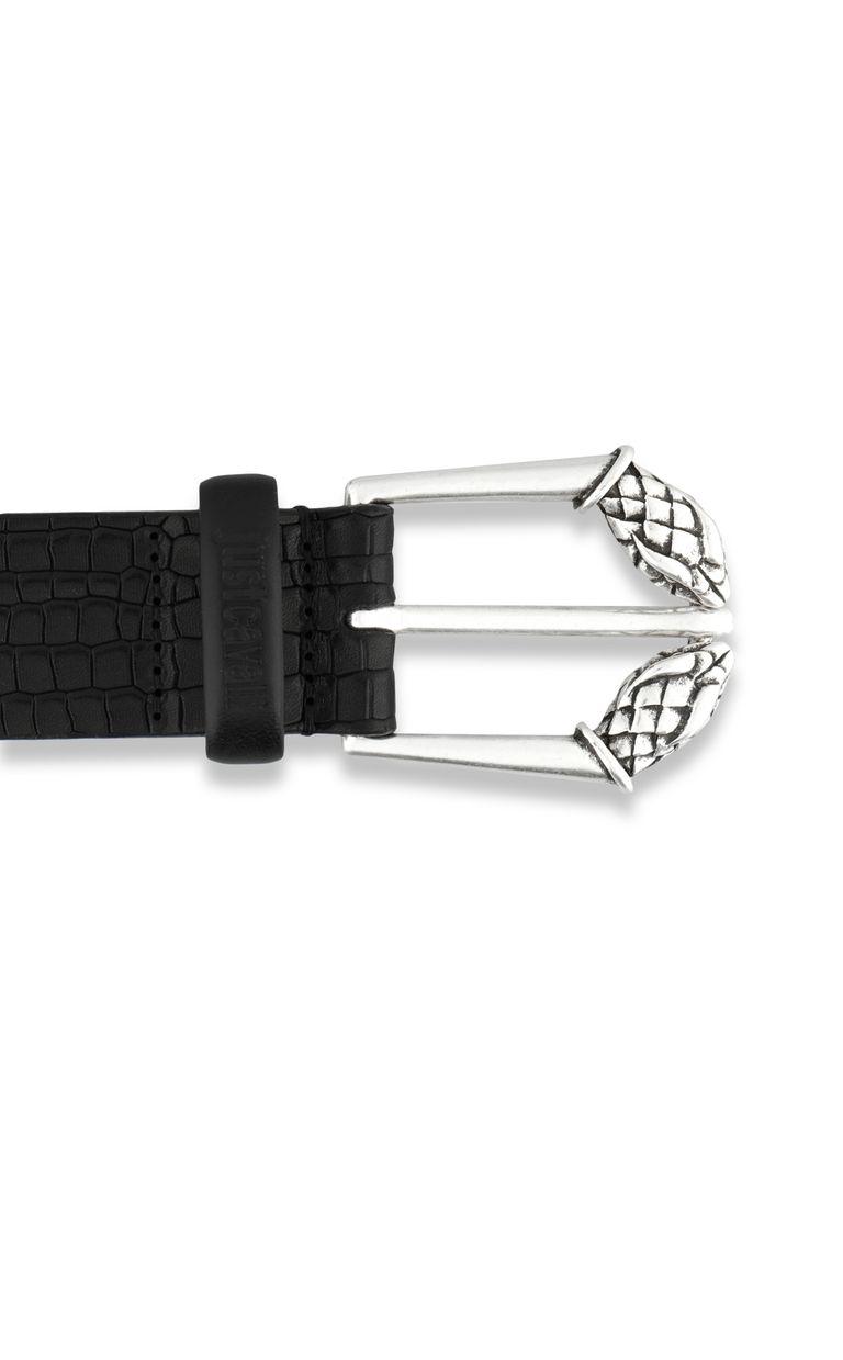 JUST CAVALLI Crocodile belt with python buckle Belt [*** pickupInStoreShippingNotGuaranteed_info ***] r