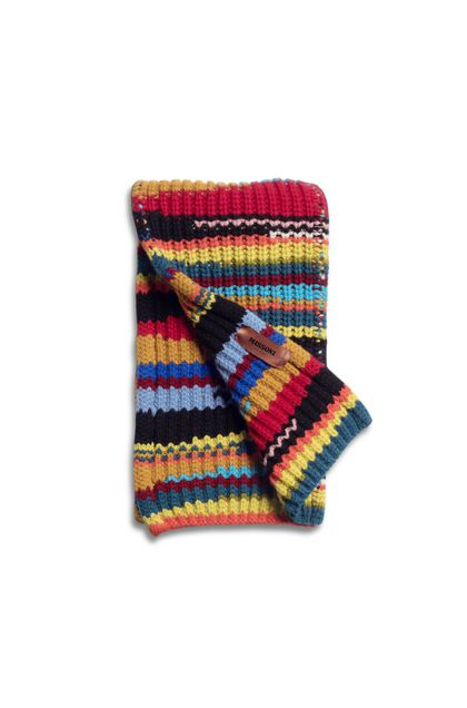 MISSONI Scarf Red Man - Front