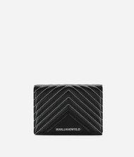 KARL LAGERFELD K/Klassik Quilted Leather Wallet 9_f