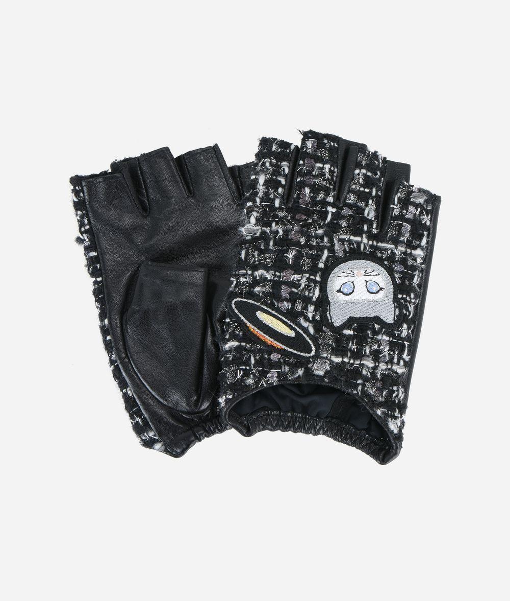 KARL LAGERFELD Karl Space Gloves Glove Woman f