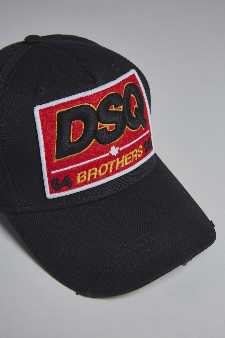 Dsquared2 DSQ Brothers Baseball Cap - Hats for ... d0193b7f439