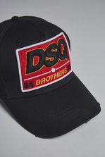 DSQUARED2 DSQ Brothers Baseball Cap Hat Man