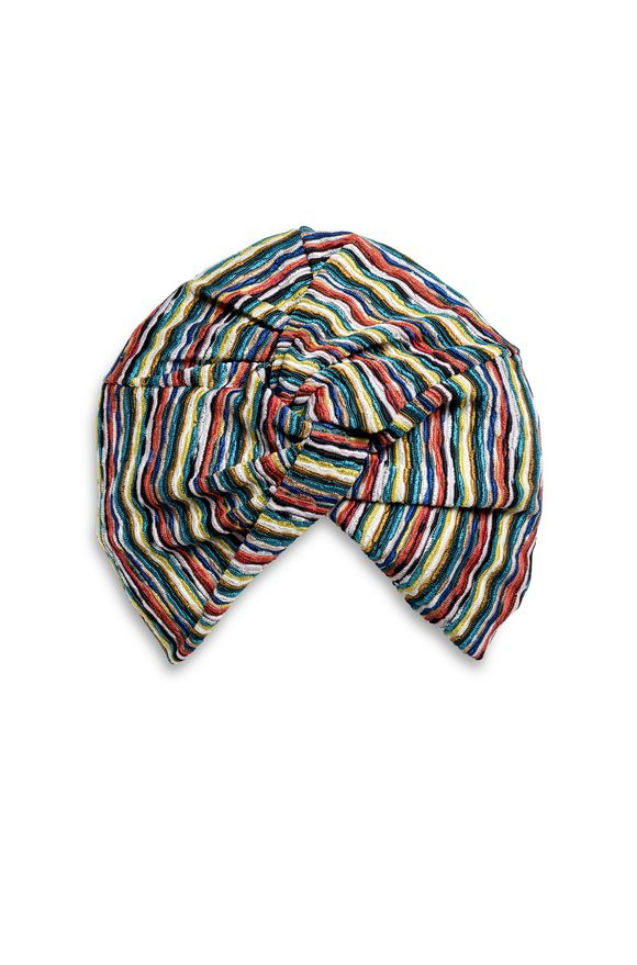 MISSONI Beachwear turban Woman, Frontal view