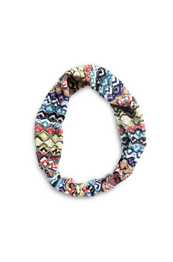 MISSONI Beachwear head band Woman, Frontal view