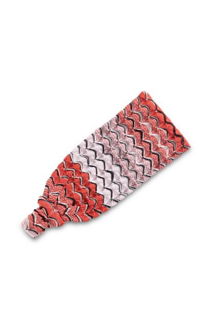 MISSONI MARE Beachwear head band Light pink Woman - Front