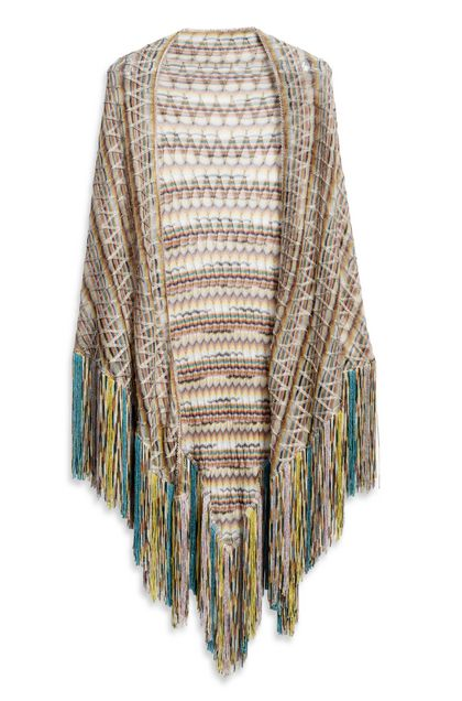 MISSONI Shawl Yellow Woman - Back