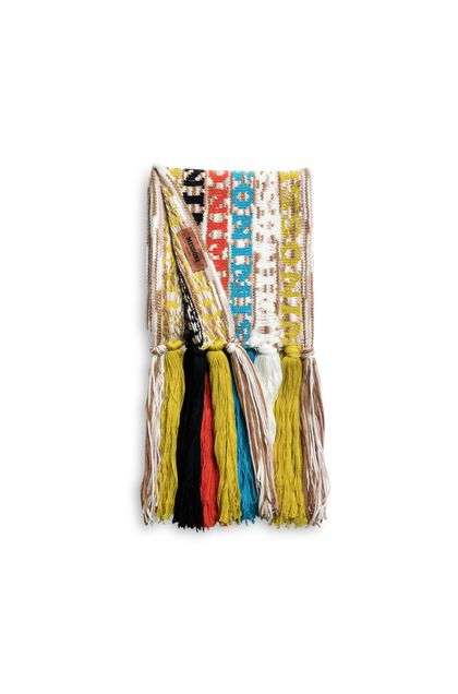MISSONI Scarf Yellow Woman - Front