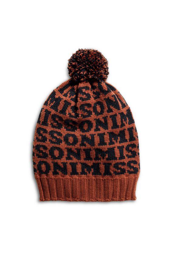 MISSONI Hat Rust Woman