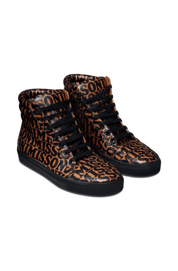 MISSONI Sneakers Donna, Vista dal retro
