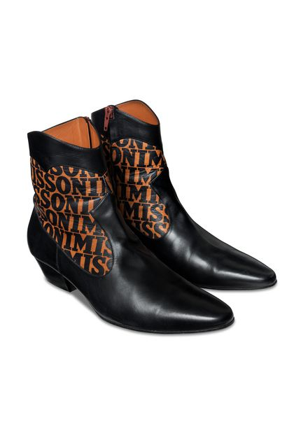 MISSONI Ankle boots Black Woman - Front