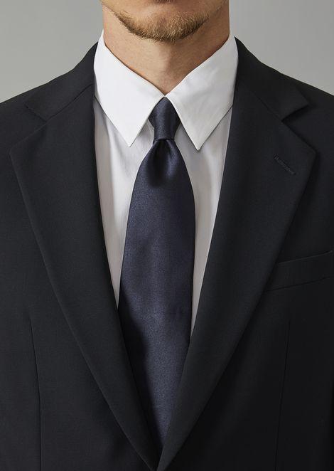 ネクタイ シルク製 ジョルジオ アルマーニ サイン
