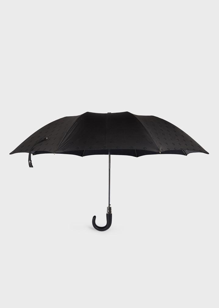 beliebt kaufen neues Konzept großer Rabattverkauf Automatic umbrella with all-over logo pattern