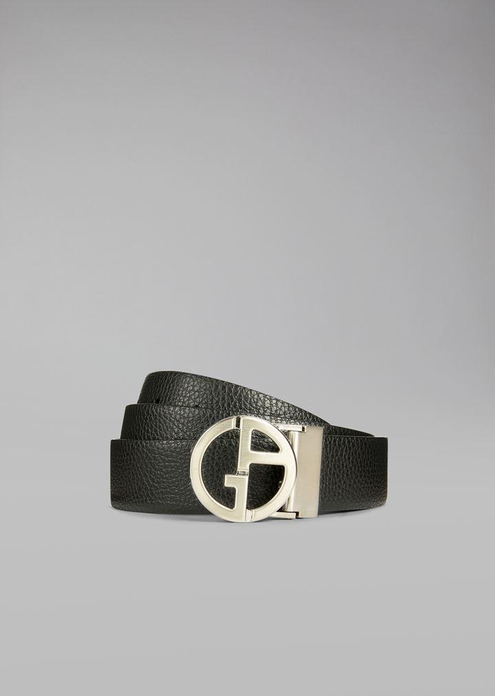 qualità superiore a67e9 58165 Cintura In Pelle granata