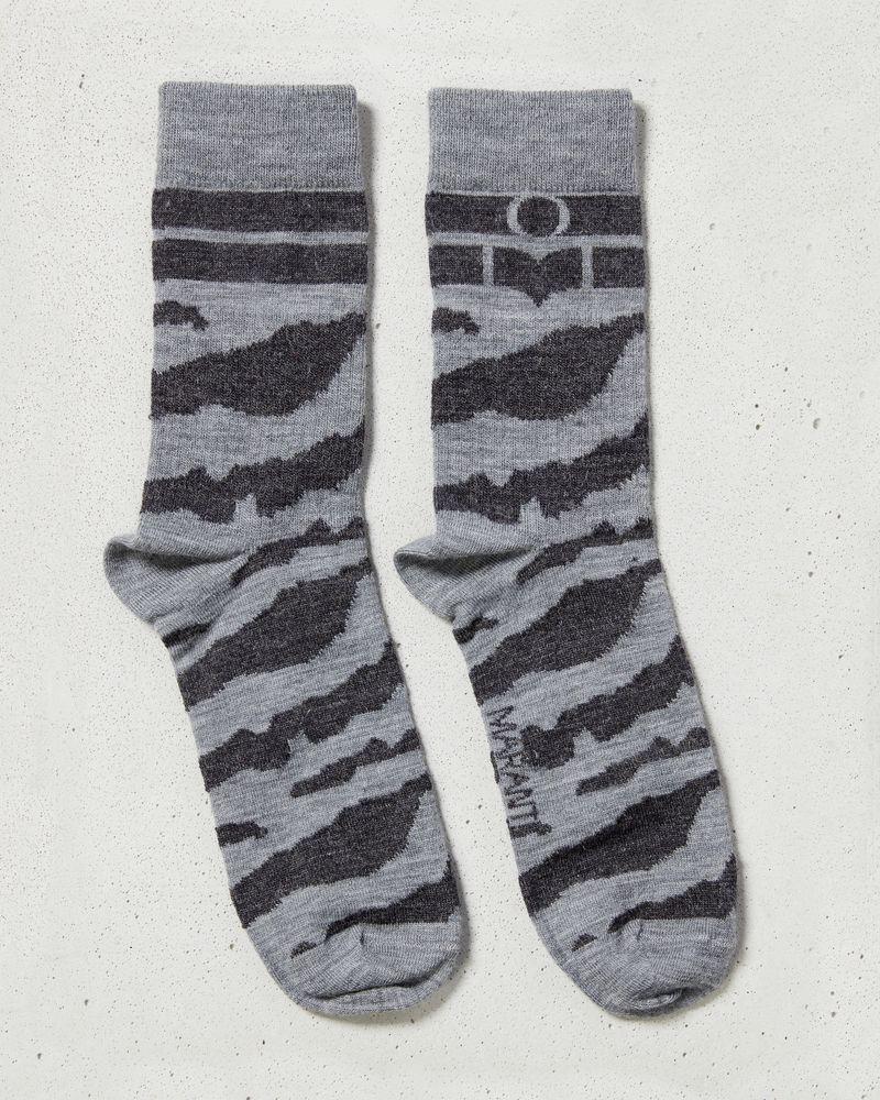 ZEBRA socks ISABEL MARANT