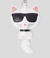 KARL LAGERFELD Choupette Leather Keychain 9_f