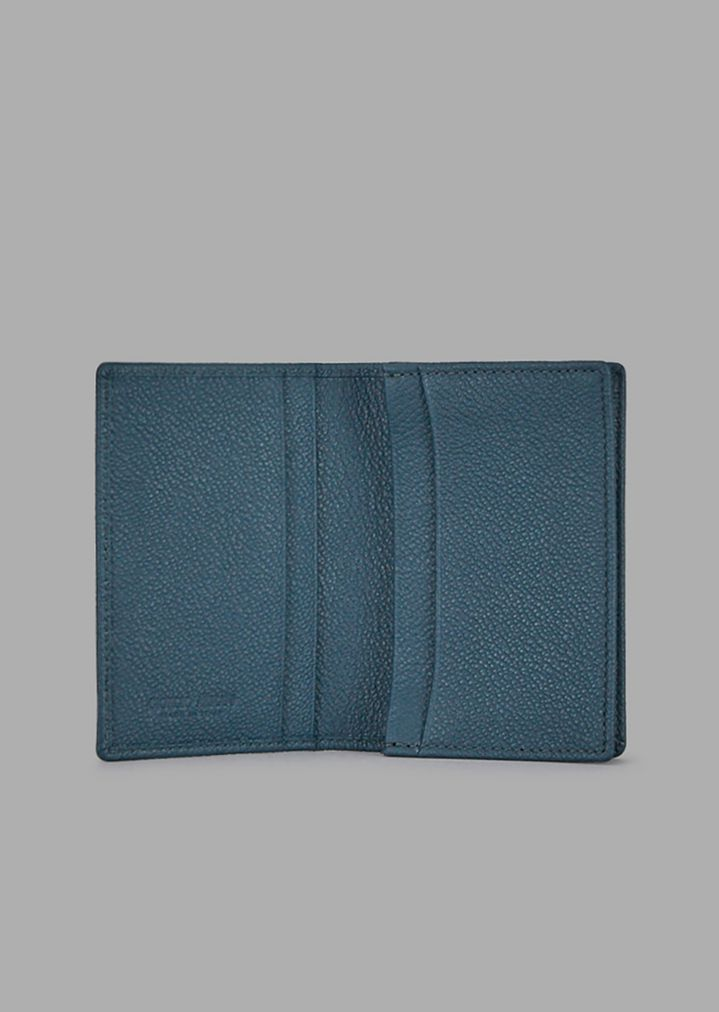 giorgio armani business card holder in grained calfskin card holder man r - Business Card Holder For Men