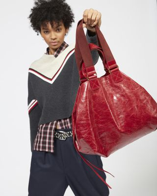 ISABEL MARANT BORSA Donna WARDY NEW Shopper e