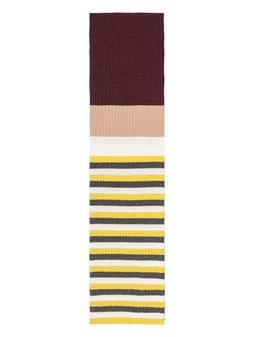 Marni STRIPED WOOL SCARF Woman