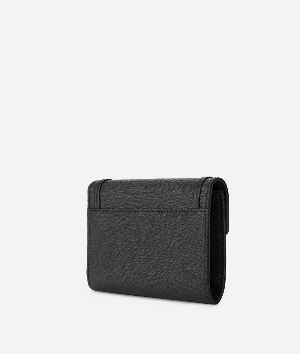 KARL LAGERFELD K/Rocky Leather Fold Wallet Wallet Woman d