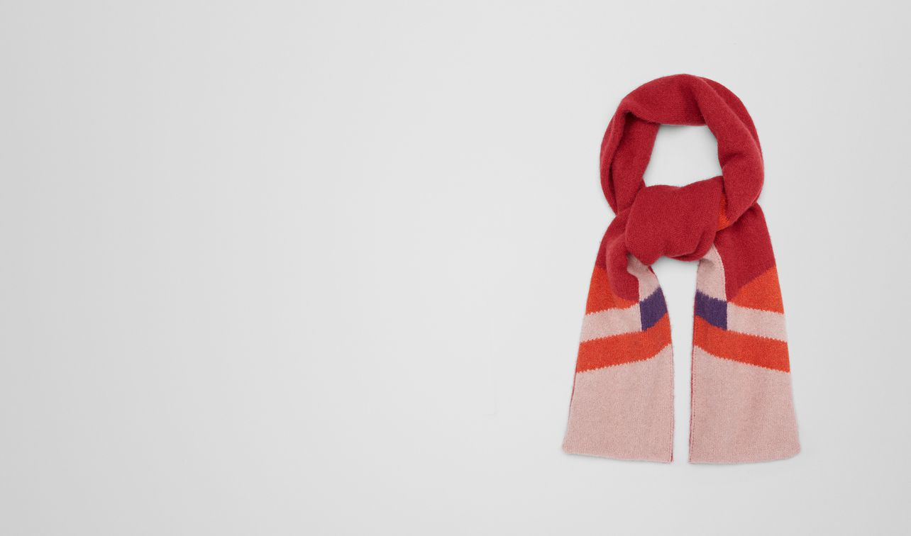 deco rose cashmere scarf landing