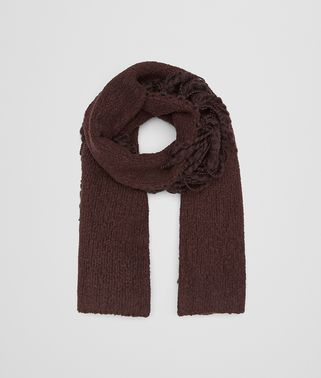 COFFEE WOOL SCARF