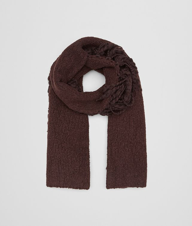 BOTTEGA VENETA COFFEE WOOL SCARF  Scarf Woman fp