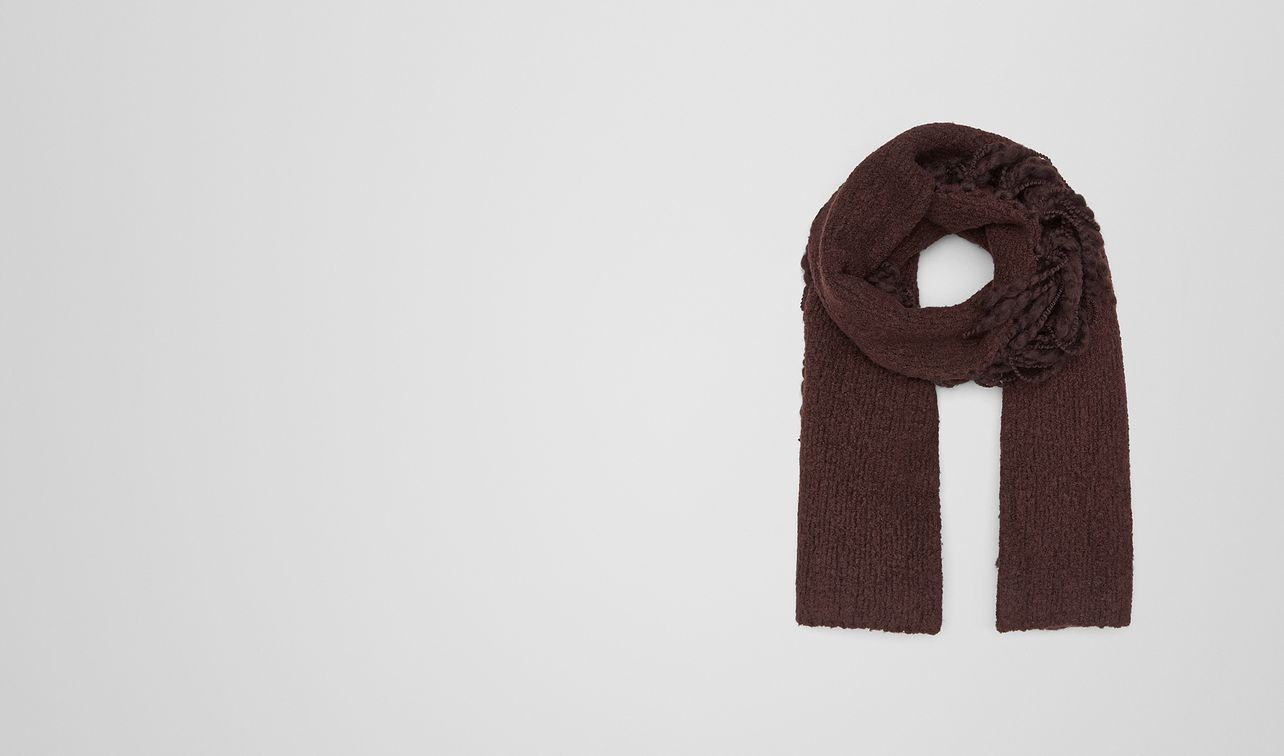 coffee wool scarf  landing
