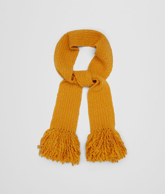 BOTTEGA VENETA TANGERINE WOOL SCARF Scarves, Gloves & Others Woman fp