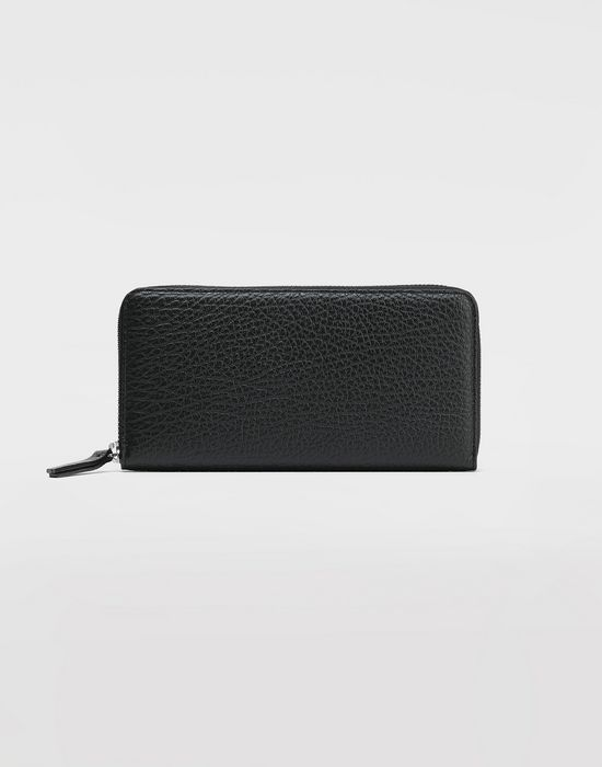 MAISON MARGIELA Black compagnon wallet Wallet [*** pickupInStoreShipping_info ***] f