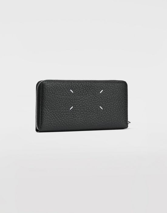 MAISON MARGIELA Black compagnon wallet Wallet [*** pickupInStoreShipping_info ***] r