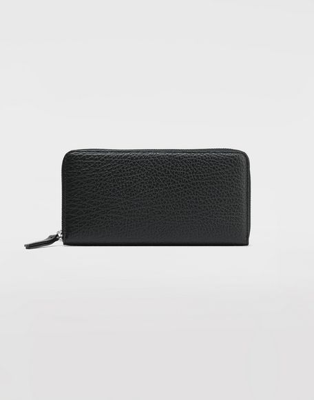 MAISON MARGIELA Black compagnon wallet Wallets Woman f