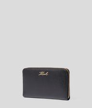 KARL LAGERFELD K/Signature Zip Wallet 9_f