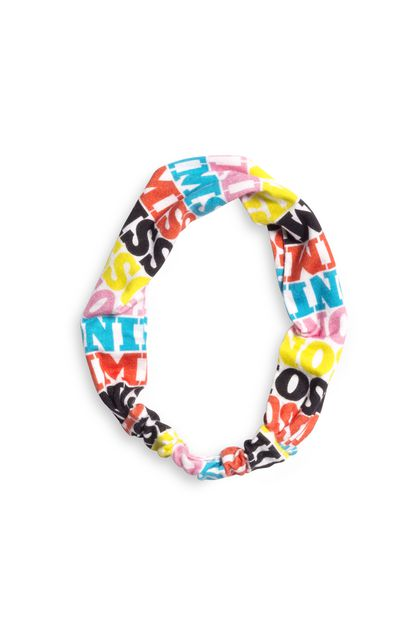 MISSONI KIDS Head band Acid green Woman - Back