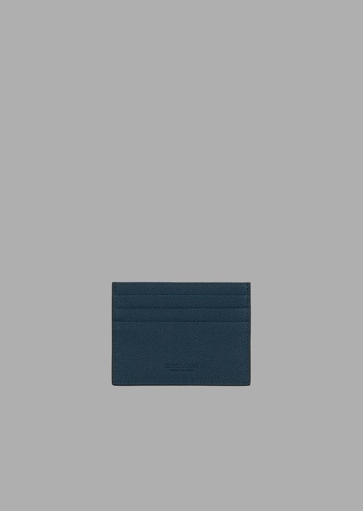 552d0621ae Cardholder in grained calfskin