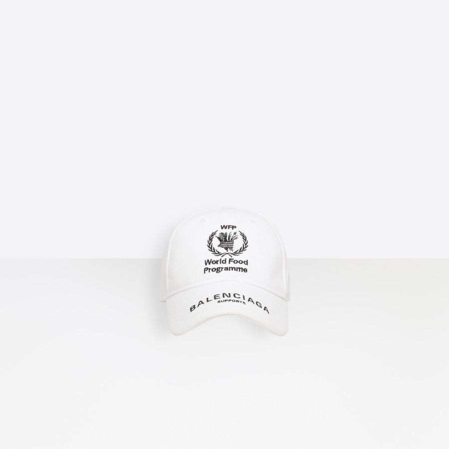 40d85f1b World Food Programme Cap White / Black for Men | Balenciaga